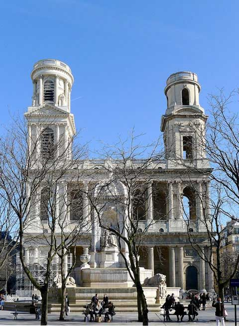Eglise Saint-Sulpice is the 2nd Catholic church built on the site, mostly…