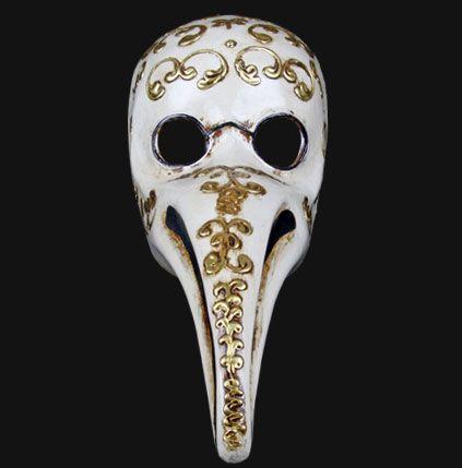 Venetian Dottore Peste with gold