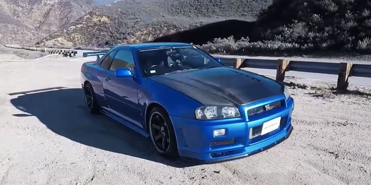 The R34 Skyline GT-R lives up to the hype.. and then some.