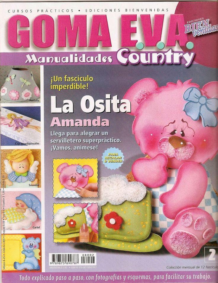 Manualidades country en goma eva