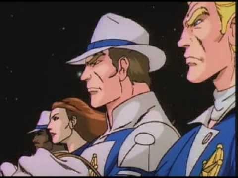 Galaxy Rangers.  The original Cowboys vs Aliens!