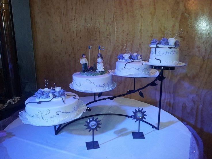 plano general de la torta de novios