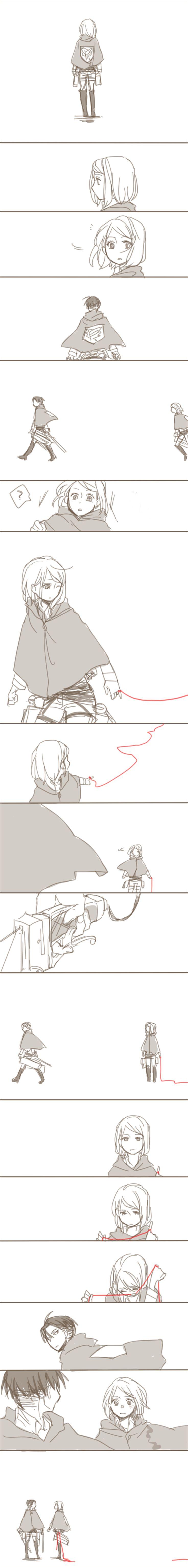 Shingeki no Kyojin - Levi and Petra