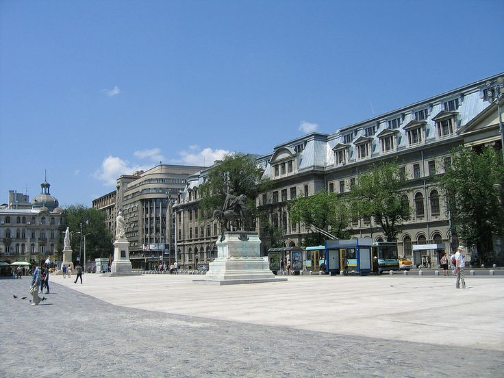 Bucharest, University Square