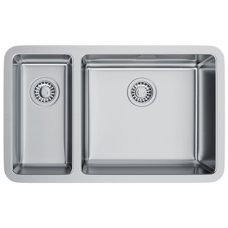 Franke Kubus KBX 160 45-20 Stainless Steel 1.5 Bowl Undermount Sink