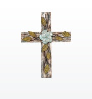 I love the idea of a wall of crosses collected from many places