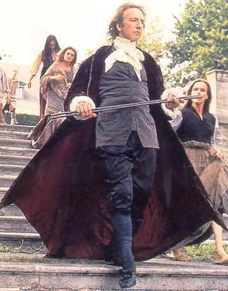 "Alan as Franz Anton Mesmer in ""Mesmer"" 1994"