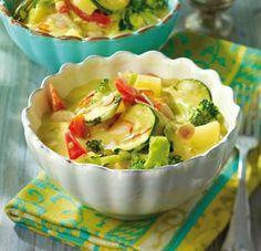 Das Rezept für Gemüse-Curry mit Kokosmilch und weitere kostenlose Rezepte auf LECKER.de