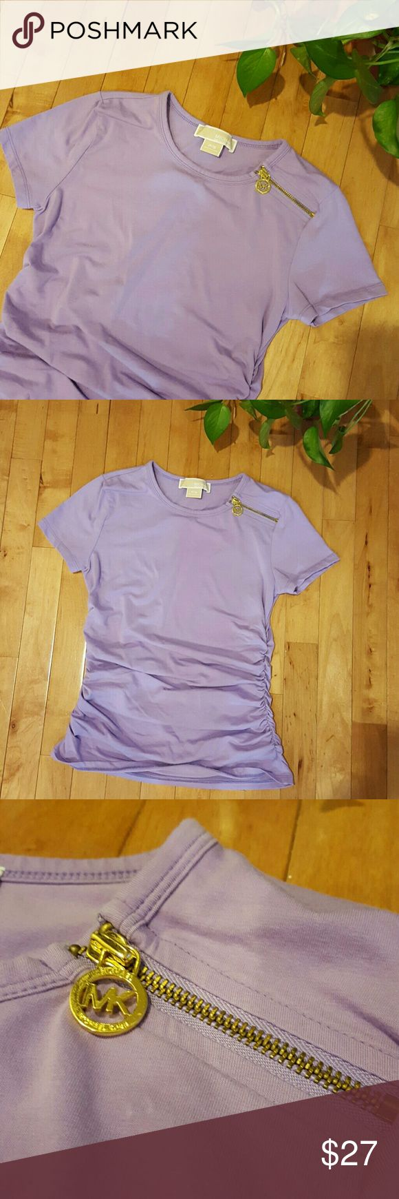 Michael Kors Lavender Shirt NWOT Michael Kors shirt. Got is as a gift but it is too small for me! Brand new never worn condition! Michael Kors Tops