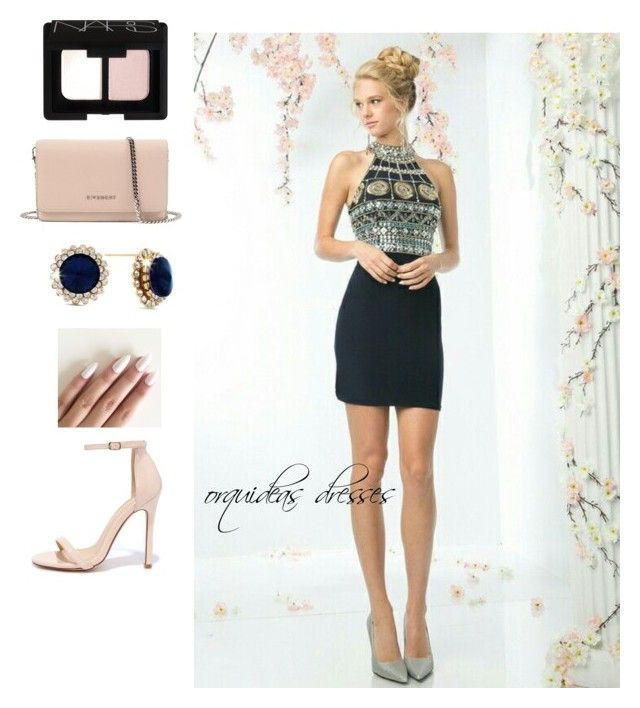 """""""Coctel navy"""" by myheartcol on Polyvore featuring NARS Cosmetics, Givenchy and Liliana"""