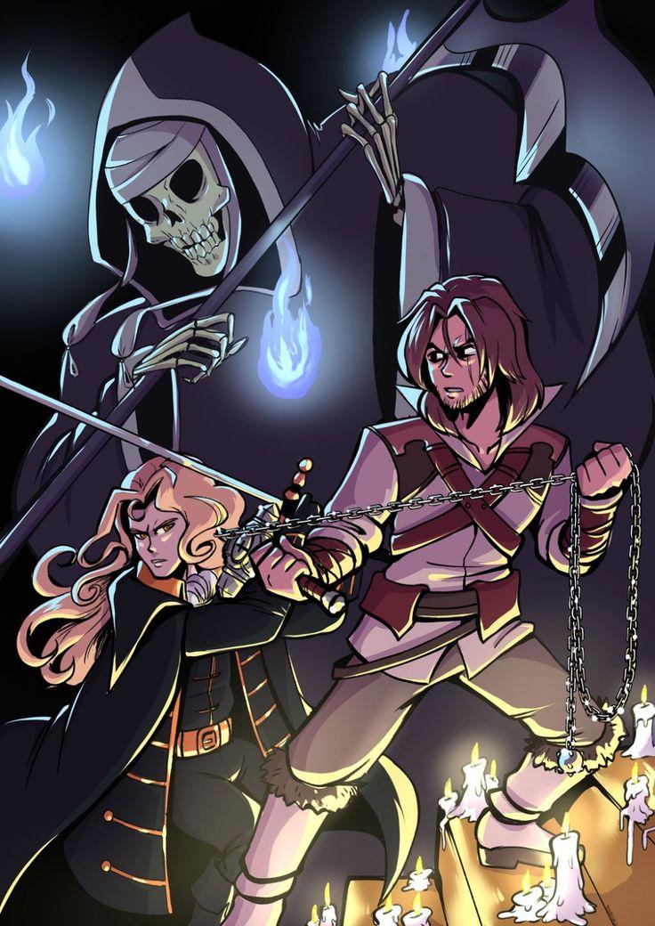 Castlevania 3 by Anaugi on DeviantArt Fan art, Anime