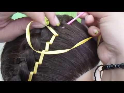 5 Tejidos en trenza para peinados infantiles - YouTube