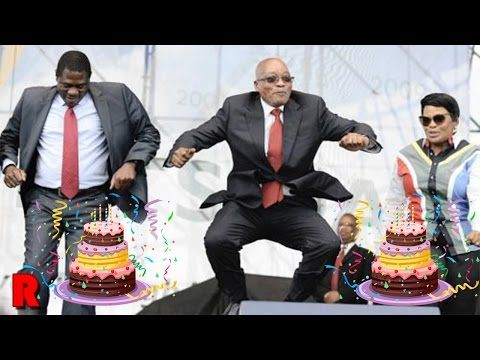 President Zuma Dancing At His 75th Birthday
