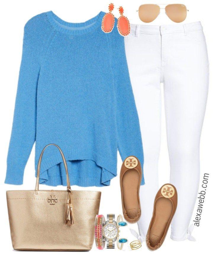Plus Size Resort Outfit - Plus Size Winter Holiday Outfit - Plus Size Fashion for Women - alexawebb.com #alexawebb #plussize