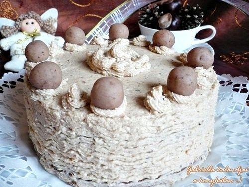 Lehet, hogy unalmasan hangzik, ha ismét azt írom: nagyon egyszerű elkészíteni ezt a gesztenyés piskótán alapuló gesztenyekrémes tortát . De...
