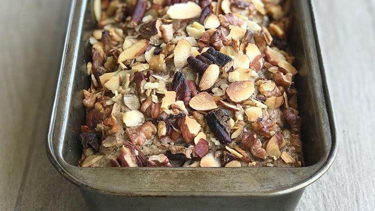 Pan Navideño: sin gluten y con frutos secos