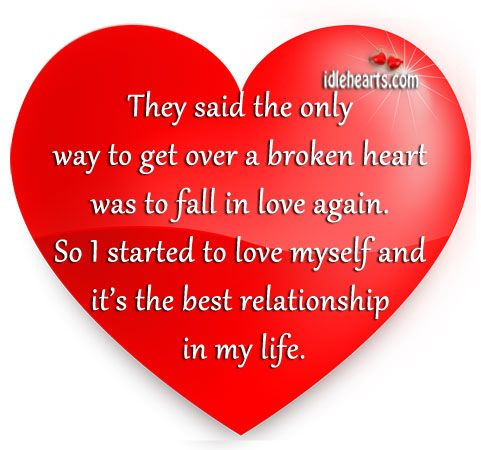 Getting Over Heartbreak | They Said The Only Way To Get Over A Broken Heart  Was