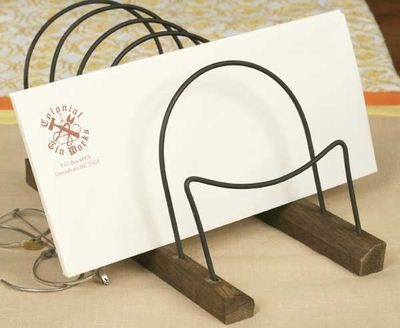 Clearance Sale! Rustic Letter Organizer