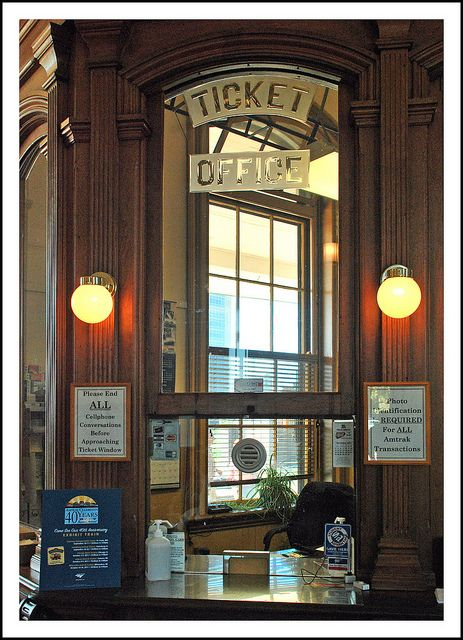 Olde Train Depot Ticket Booth | Recent Photos The Commons Getty Collection Galleries World Map App ...