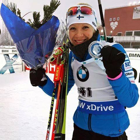 Кайса Макаряйнен-срібна призерка спринтерської гонки