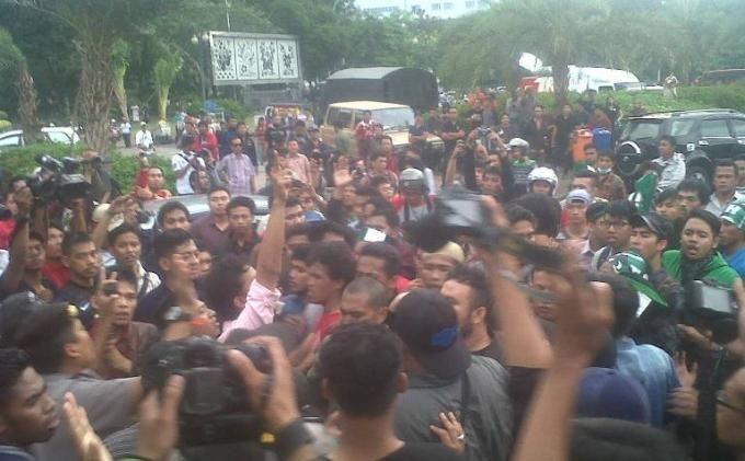 Mahasiswa Makassar, Aceh dan Surabaya bertekad gulingkan Jokowi