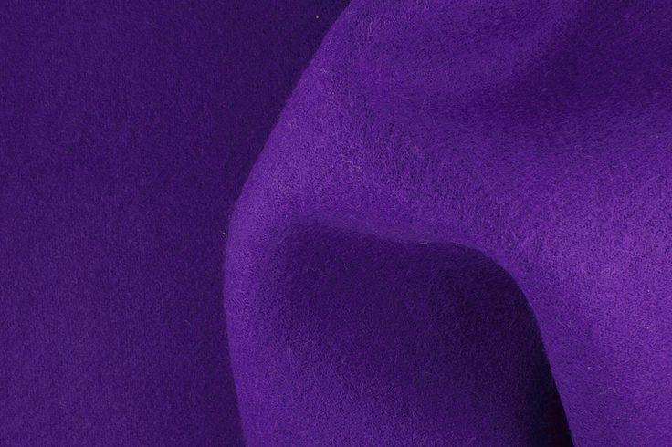 Britex Fabrics -  Heavyweight Deep Purple  Double-Faced Wool Coating  (Made in England) - LIMITED STOCK - Coating - Wool - Fabric