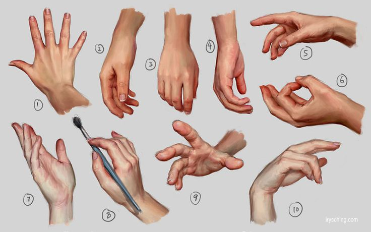 Hand Study 1 by ~irysching on deviantART