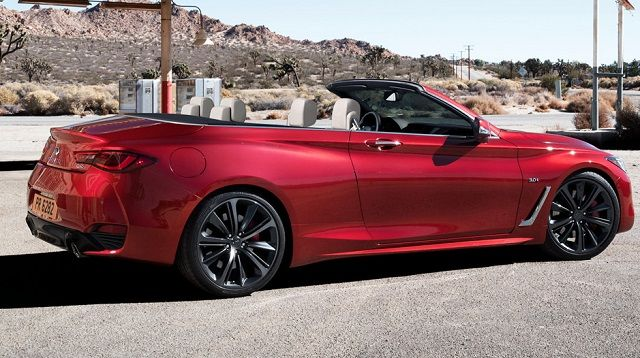2017 infiniti q60 convertible side 2017 nissan pinterest convertible. Black Bedroom Furniture Sets. Home Design Ideas