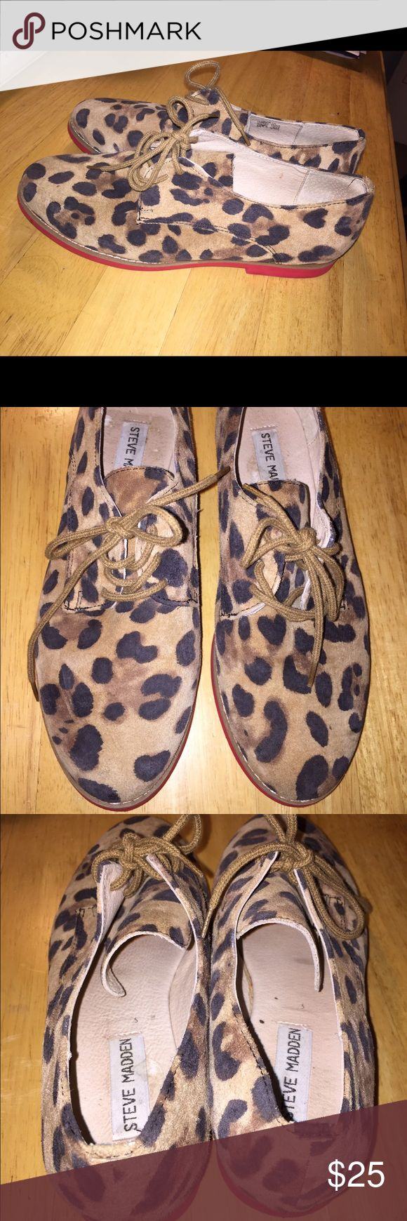 Steve Madden Cheetah with Red Sole Steve Madden Cheetah with Red Sole Steve Madden Shoes Sneakers