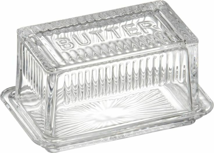 28 best images about butter dish on pinterest rhodes - Crate and barrel espana ...