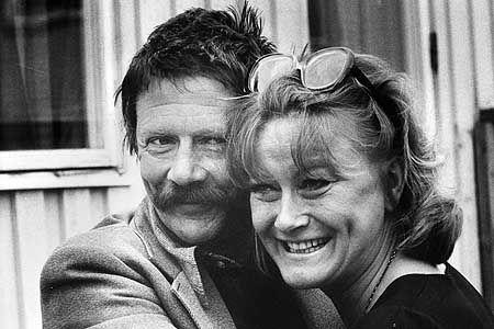 Allan Edwall och Monica Zetterlund