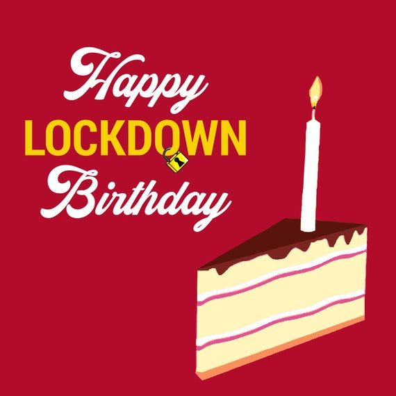 Lockdown Birthday Card Funny Isolation For Him For Her Joke Best Funny Birthday Message Birthday Message For Daughter Happy Birthday Husband