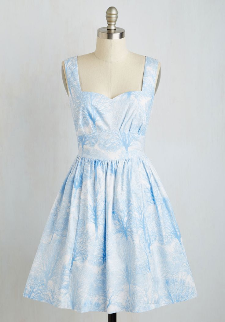 Snowfalling For You Dress