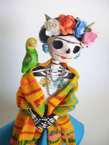 ✢ Viva ❡ R I D A | Dia de los Muertos paper mache catrina