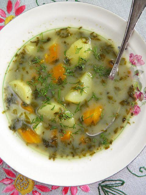 sio-smutki! Monika od kuchni: Zupa szczawiowa z chrzanem