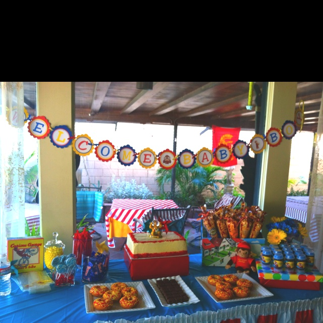 74 Best Images About Curious George Themed Baby Shower On