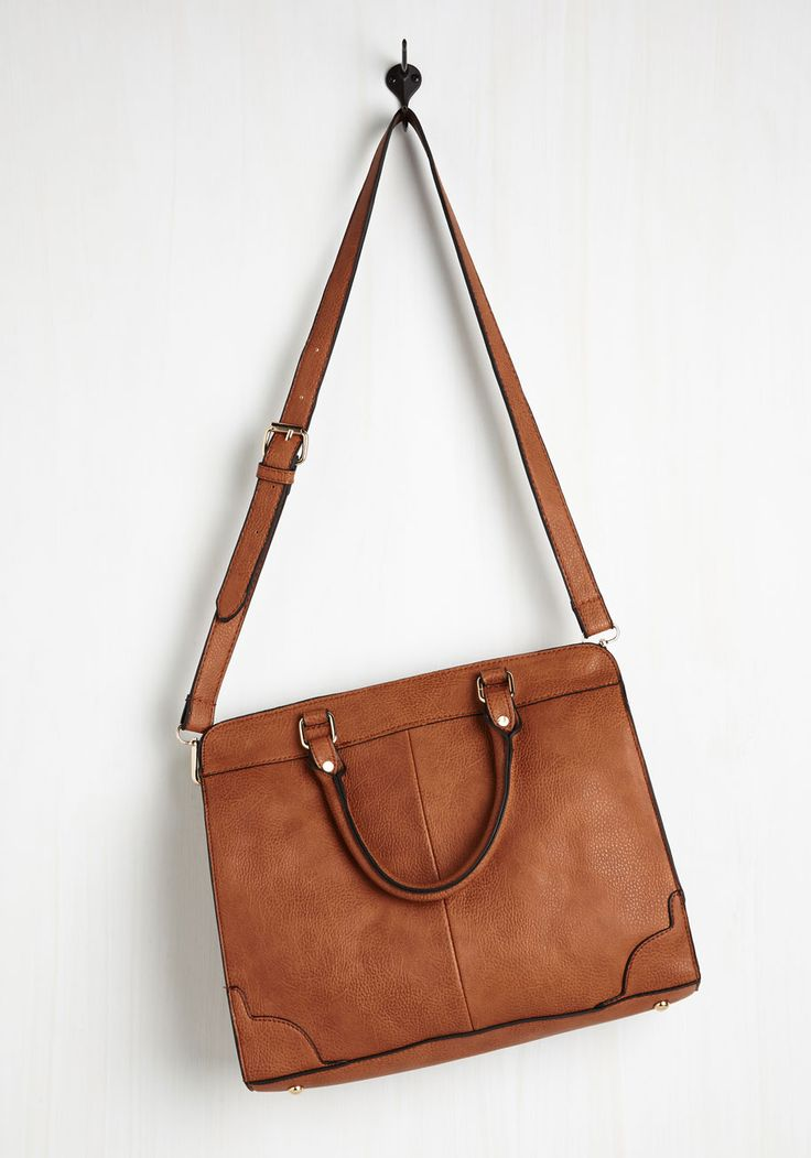 Heading in the Bright Direction Bag in Cognac