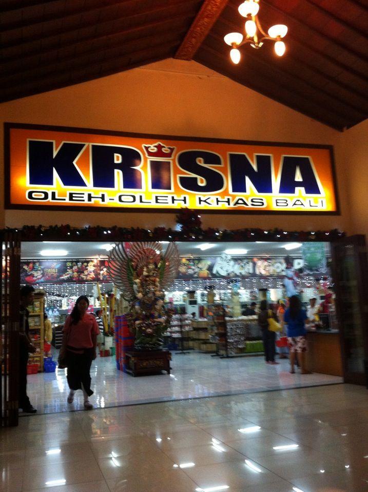 KRiSNA Souvenir Shop Bali di Kuta, Bali