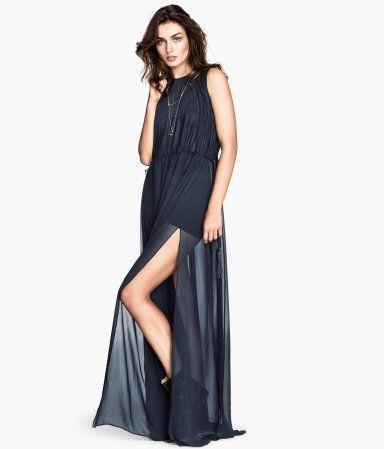 10  ideas about Blue Chiffon Dresses on Pinterest  Art styles ...