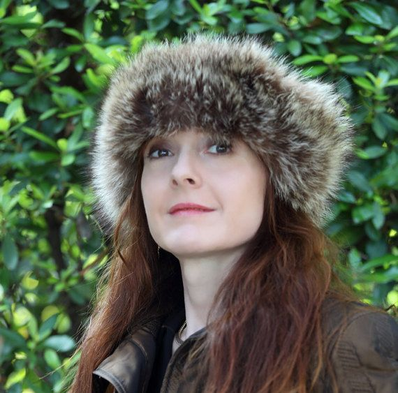 FANNY  Marmot fur stretch headwrap scarf / by AtelierUnipel