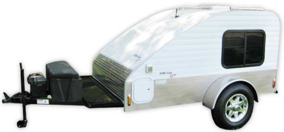 RT teardrop ultra-light camper trailers by Little Guy for sale in Tennessee.