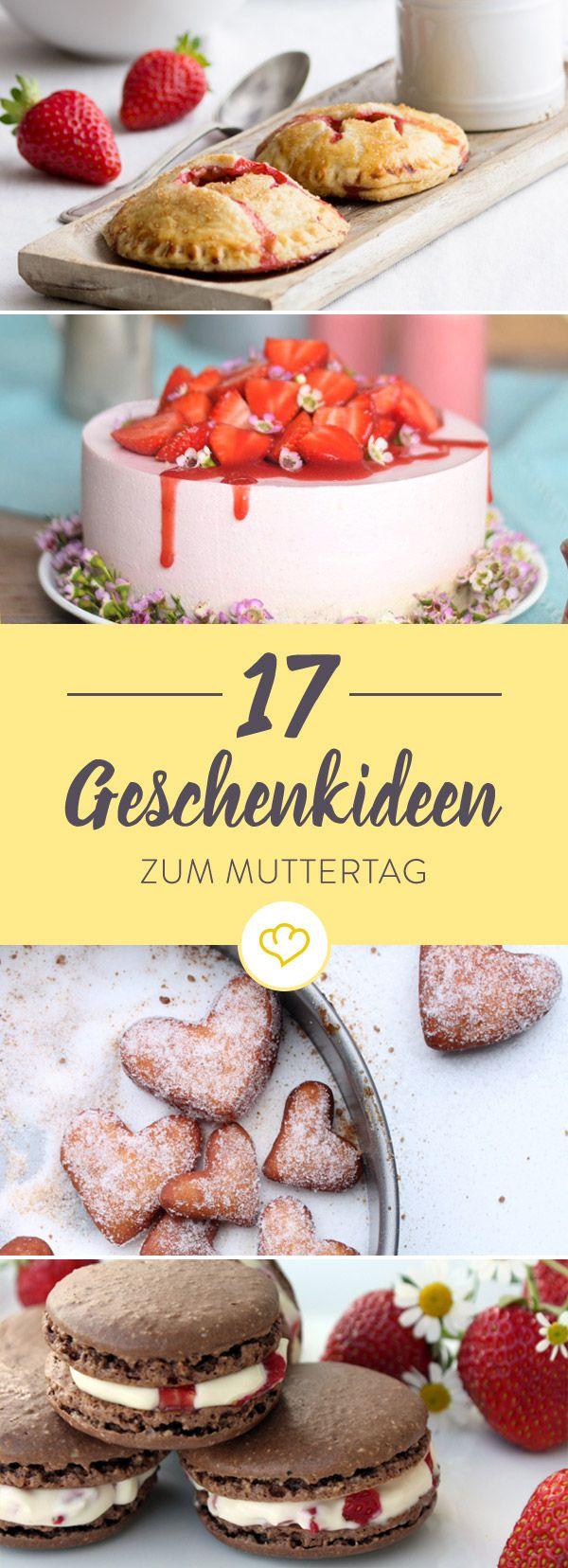 Ihr wollt eurer Mama eine Freude zum Muttertag machen? Wir haben 17 leckere Ideen, mit der ihr eure Mama mal so richtig verwöhnen könnt.