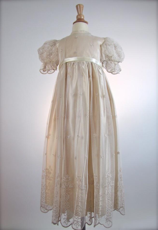 The Grand Suite Vintage Antique White Tambour Lace