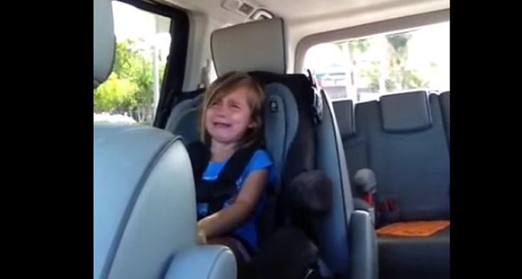 Little Girl Heartbroken Over Adam Levine's Marriage [Video]