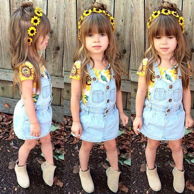 Meninas estilosas do Instagram Looks fofos Infantil Feminino Boho Casual Chic #boho #baby #girl