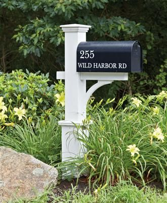 Dover FC | Wood Mailbox Posts, Vinyl Mailbox Posts from Walpole Woodworkers
