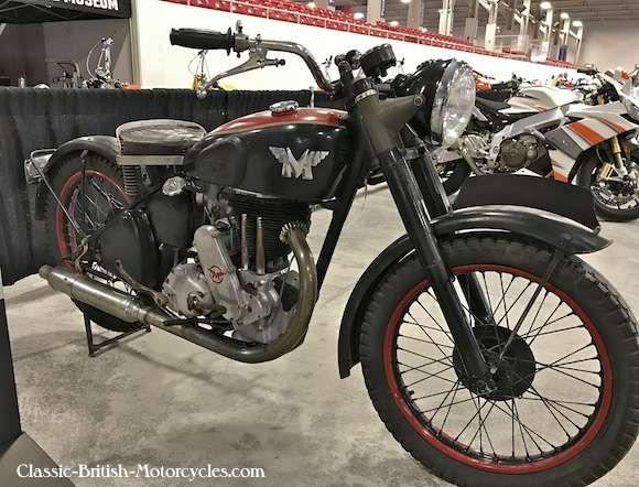 1947 Matchless G80 500 Single Matchless Classic Bikes British Motorcycles