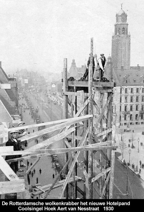Rotterdam, Coolsingel 1930.