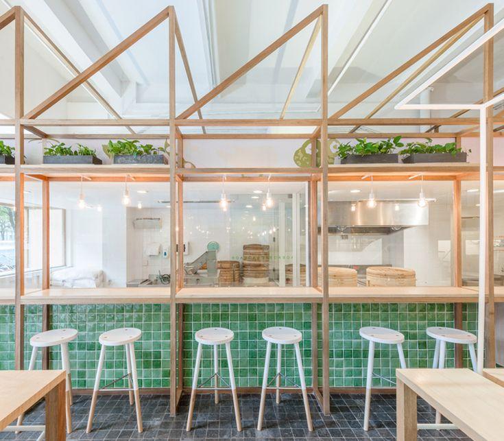 Baobao restaurant in shanghai by linehouse modern restaurantrestaurant interior designrestaurant