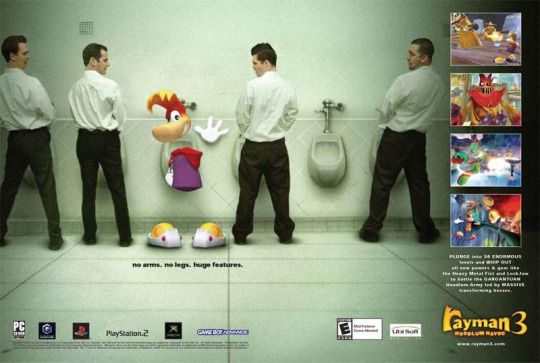 rayman implied to have a big dick.